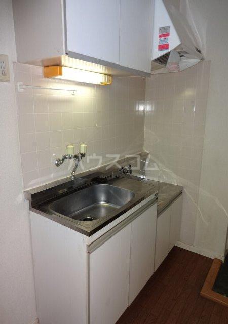 第11メゾンエステルナ 105号室のキッチン