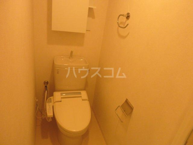 レジディア船橋Ⅱ 803号室のトイレ