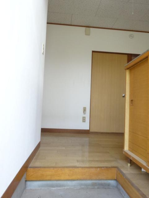 第三斉藤荘 102号室の玄関