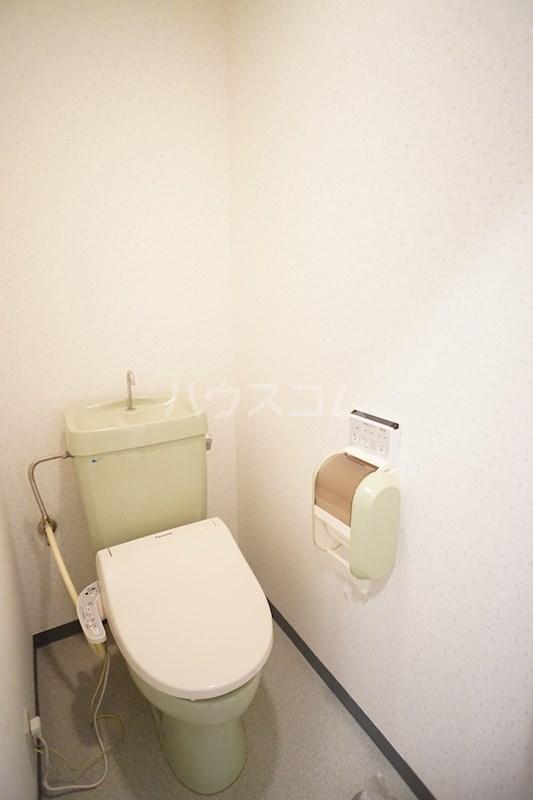 アフロディテ広沢 102号室のトイレ
