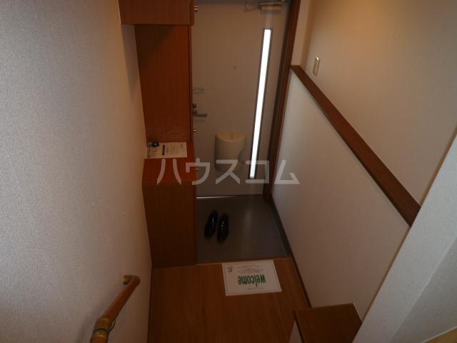 フローレンス古田 B 202号室の玄関