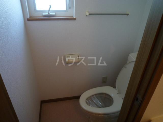 フローレンス古田 B 202号室のトイレ