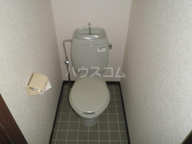 ビューライフHINO B 211号室のトイレ