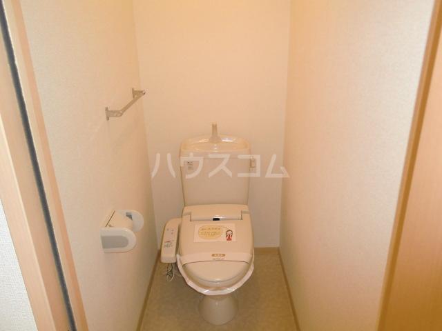 カトルセゾン B 105号室のトイレ