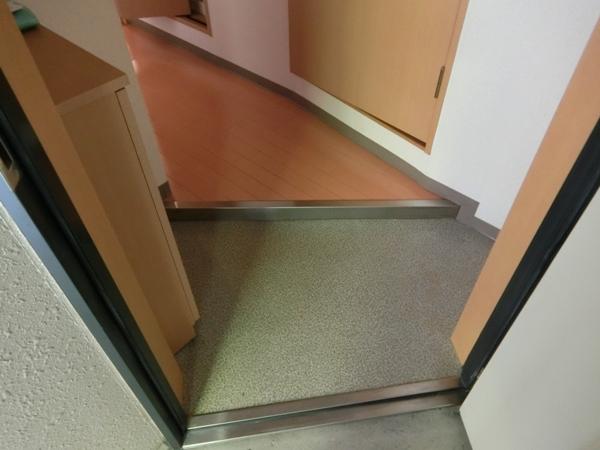 ヌーベルバーグ 302号室の玄関