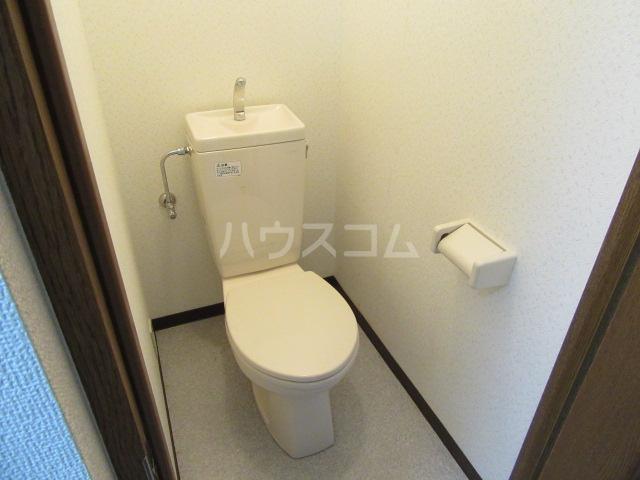 マンションアルティア Ⅱ 105号室のトイレ