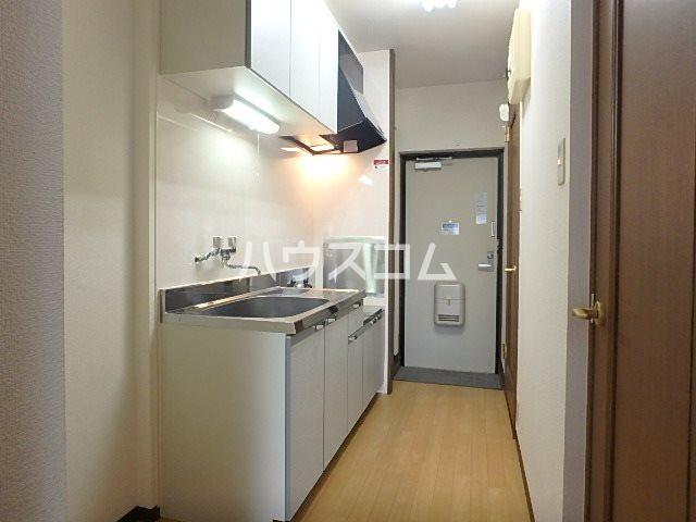マンションアルティア Ⅱ 302号室のキッチン