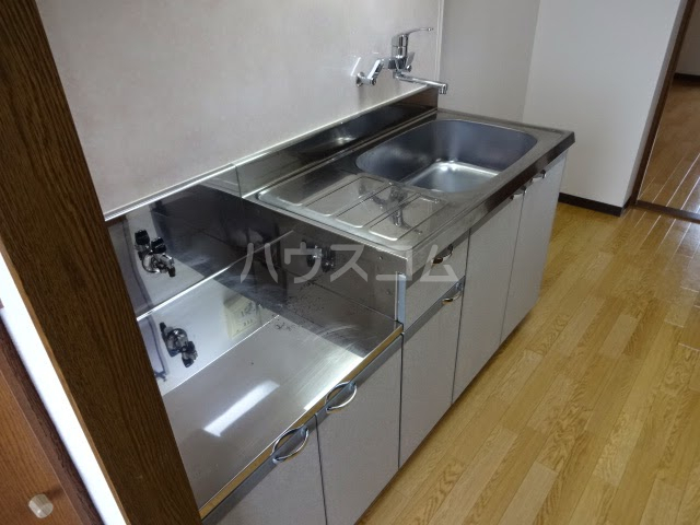 D-FELLOW 502号室のキッチン