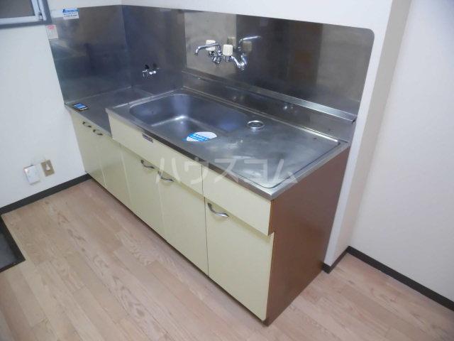 ベストライフ八洲 202号室のキッチン
