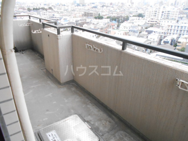 駒沢ダイヤモンドマンション 1102号室のバルコニー