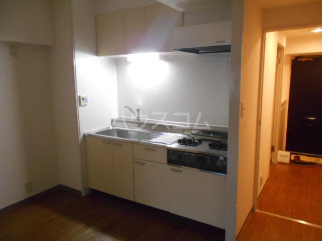 駒沢ダイヤモンドマンション 1102号室のキッチン