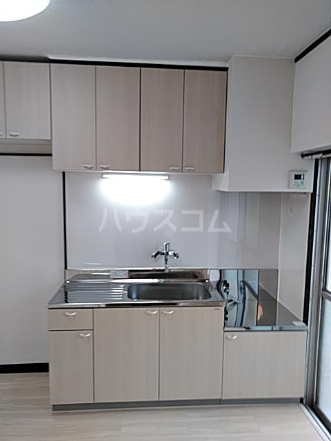 パークサイドハイツ 201号室のキッチン
