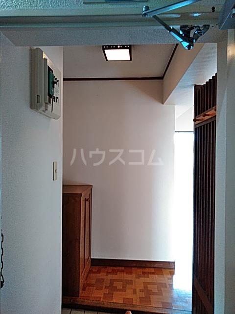 パークサイドハイツ 302号室の玄関