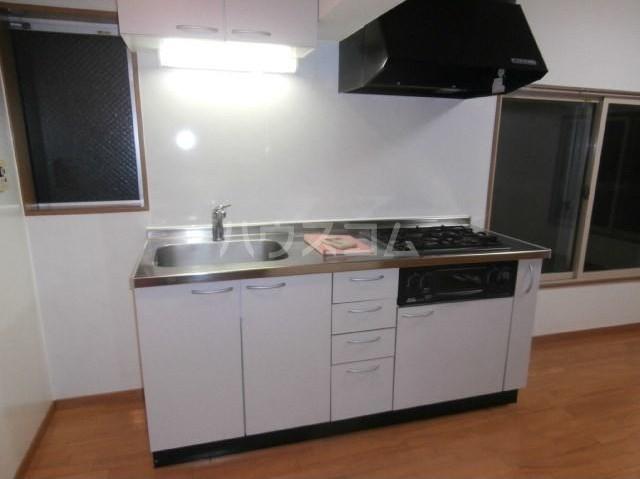 タブコートDee 201号室のキッチン