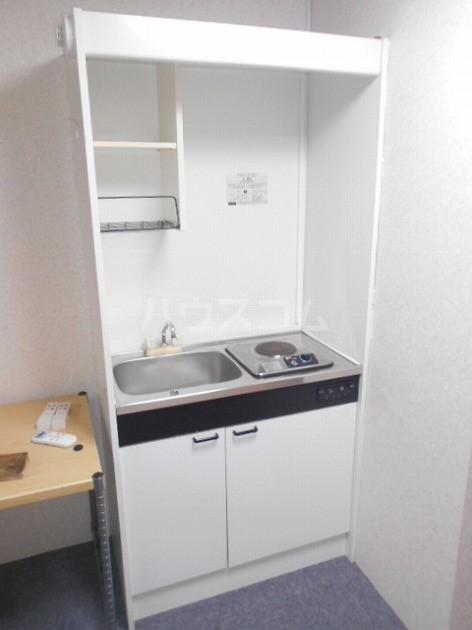 エムライン深沢 106号室のキッチン