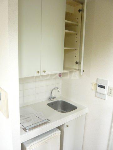 ミュゼ駒沢 102号室のキッチン