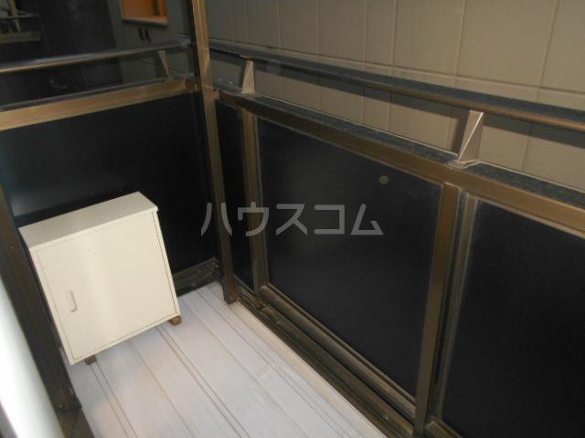 ウィリングⅡ 201号室のバルコニー