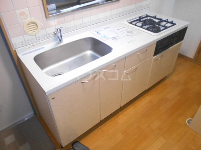 ウィリングⅡ 201号室のキッチン