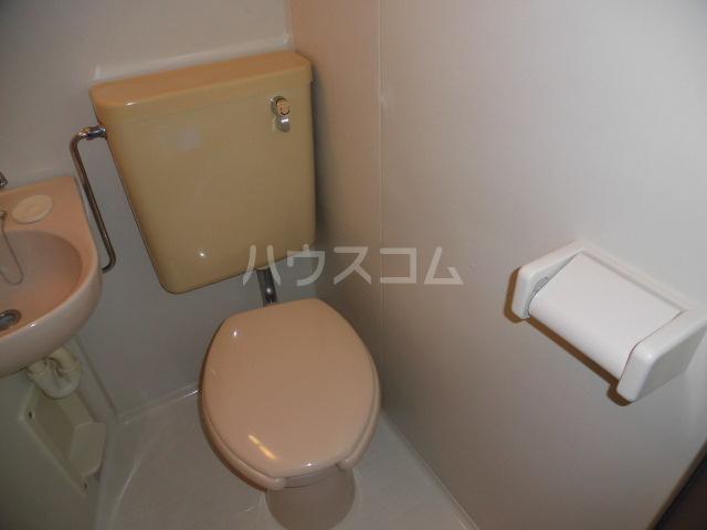 Vingt Quatre東が丘 102号室のトイレ