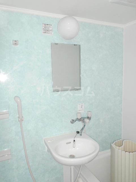 パークサイド 203号室の洗面所
