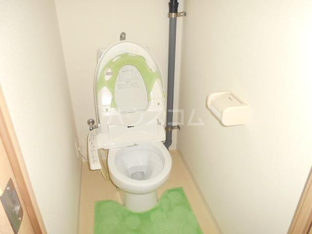 パークサイド 203号室のトイレ