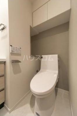パークアクシス自由が丘テラス 303号室のトイレ