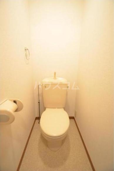 セント・ティアラ 601号室のトイレ