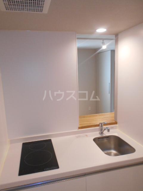 ノゾミテラス 101号室のキッチン