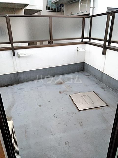 DUEX PRISM 3C号室のバルコニー