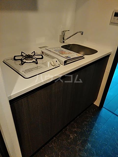 コンポジット上野毛 401号室のキッチン