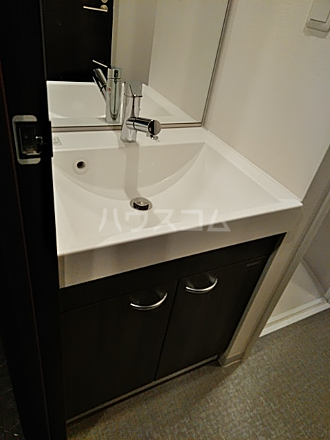 コンポジット上野毛 401号室の洗面所