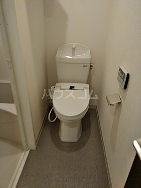 コンポジット上野毛 401号室のトイレ