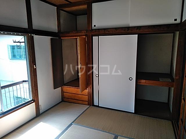 大岡アパート 201号室のバルコニー
