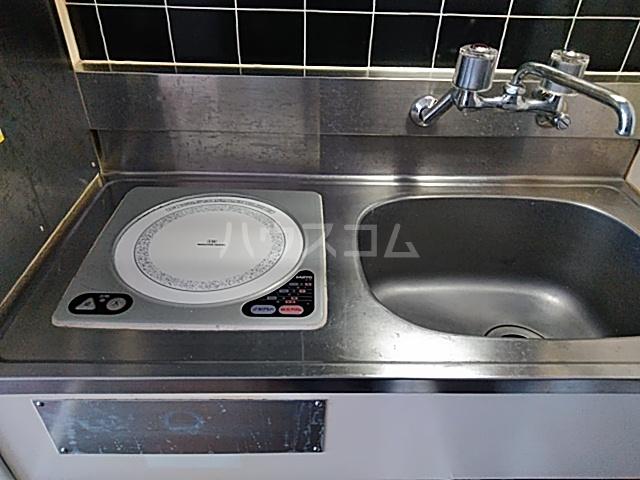 TOP横浜吉野町 407号室のキッチン