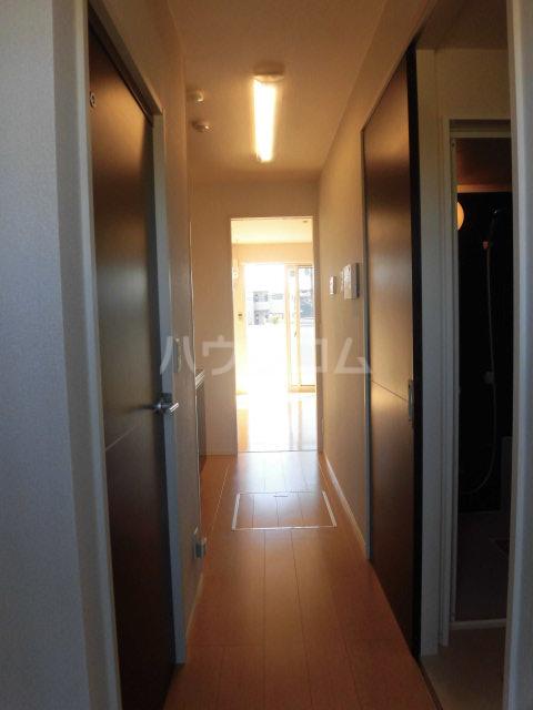 シャルム B 00107号室の玄関