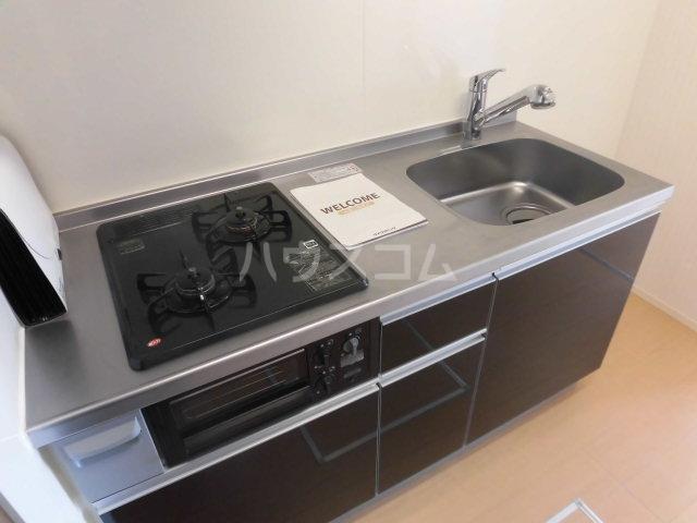 シャルム B 00107号室のキッチン