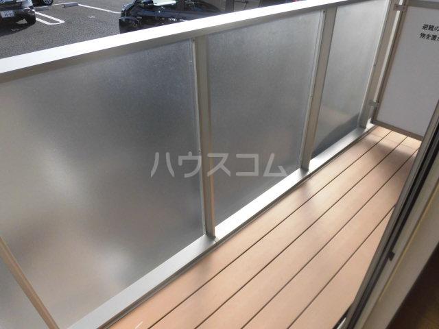 シャルム B 00107号室のバルコニー