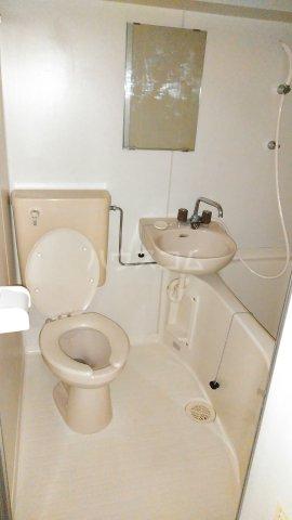 コスモスパジオ浦和常盤 406号室のトイレ