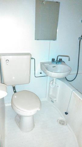 コスモスパジオ浦和常盤 603号室のトイレ