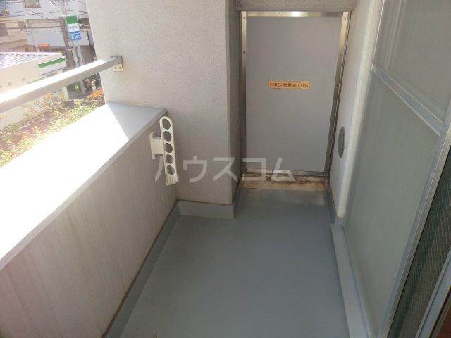 永井ビル 804号室のバルコニー