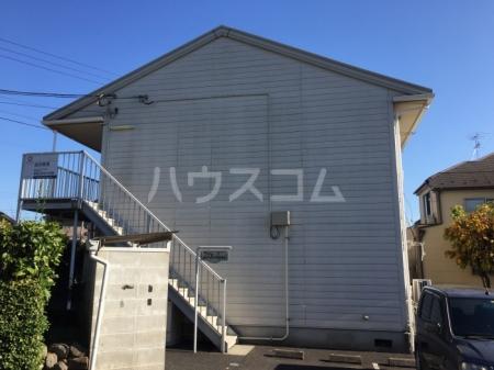 シャンプル中村 201号室のエントランス