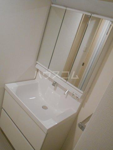 クレール八王子 203号室の洗面所