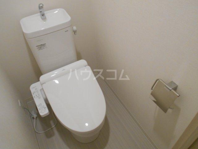 クレール八王子 203号室のトイレ
