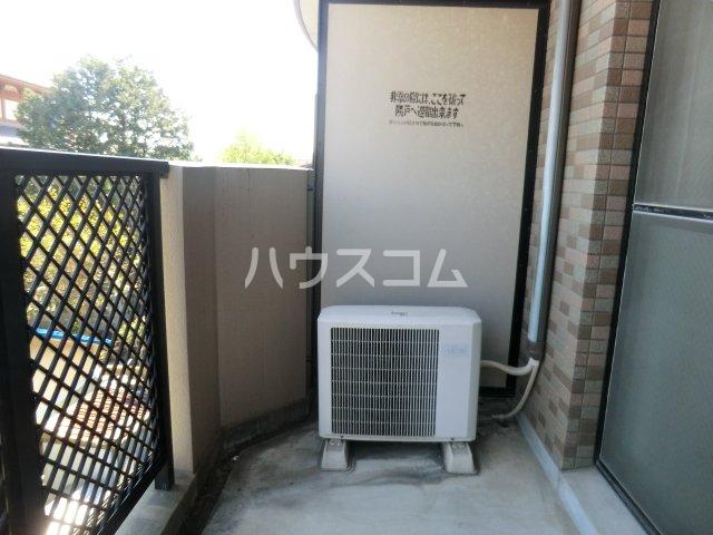 クリア吉塚 202号室のバルコニー