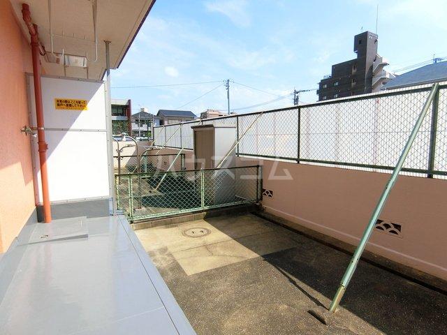 山本ビル(東雲町) 105号室のバルコニー
