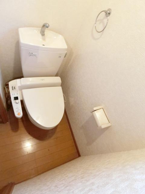 ケアンズコート 205号室のトイレ