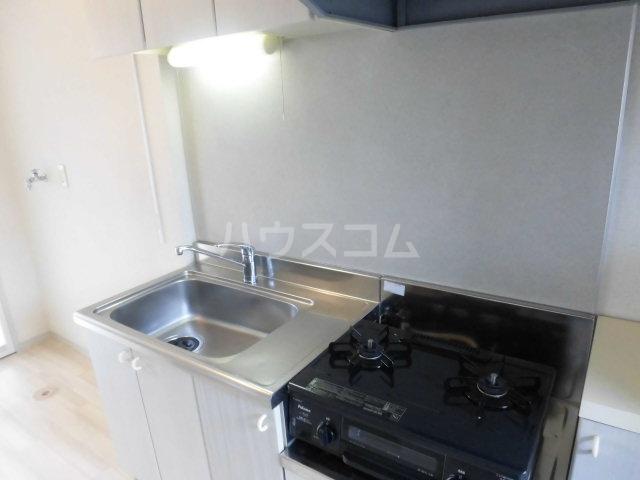ロジュマン 205号室のキッチン