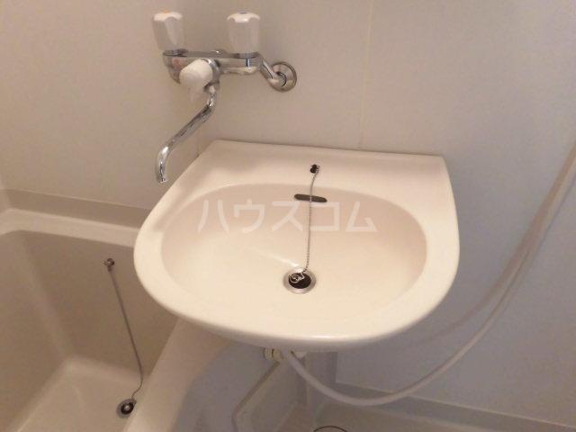 ロジュマン 205号室の洗面所