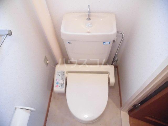原田マンション 303号室のトイレ