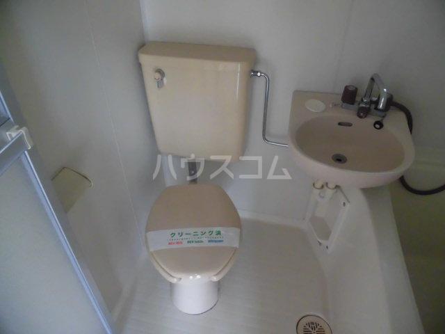 リレント・レオⅡ 202号室のトイレ